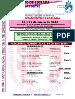 DEPORTE | El DXT de Coslada / 18 y 19 de enero