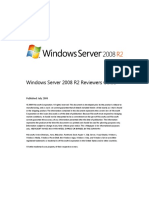 Windows Server 2008 R2 Reviewers Guide RTM