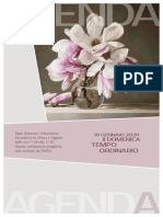 Comunità pastorale di Uggiate e Ronago - Agenda della setitmana