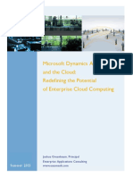 Redefing the potential of enterprise cloud computing WP final