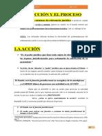 LA ACCIÓN, EL PROCESO Y LAS TUTELAS JUDICIALES