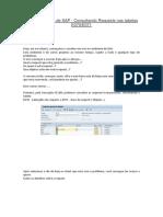 Dicas e Truques de SAP Consultando Requests nas tabelas E070_E071