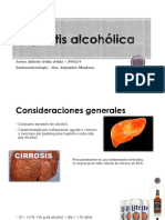 Hepatitis alcoholica y esteatohepatitis no alcoholica