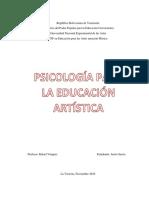 Psicologia de las artes