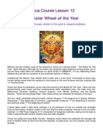 wicca - The Solar Wheel of the Year