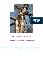 Wicca - Grounding and Centring