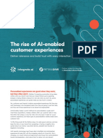 The Rise of AI-enabled Customer Experiences