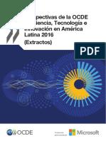 prespectivas de la OCDE en ciencia y tec en américa latina