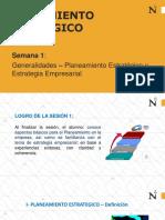 SEMANA 1- GENERALIDADES  PE - ENERO 2020 --