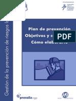FOLLETO PLAN DE PREVENCION ASES