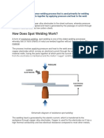PART 166 What is Spot Welding