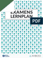 Amboss Lernplan F20