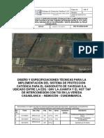 DisenÞo Sistema Proteccioìn Catoìdica Gasoducto EDS La Juanita - Yavegas S.A.  E.S.P. (3)oct 2019