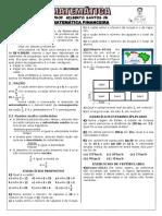 Apostila de Matemática Financeira (7 páginas, 57 questões)