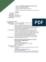 UT Dallas Syllabus for mis6204.552.11s taught by Hans-Joachim Adler (hxa026000)