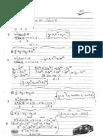 Resolução - AV2 Cálculo III