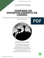 Cursos de Formação _ Instituto Líder Católico