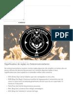 Lobos Negros Preparação_ Significados de siglas no Sobrevivencialismo