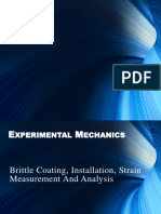 Brittle coating theory