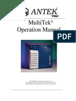 MultiTek Operation
