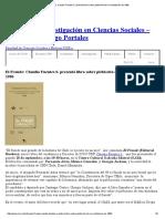 El Fraude_ Claudio Fuentes S