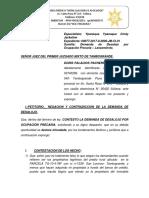 CONTESTACION DE DESALOJO SANTIN.docx