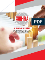 HRA Consultants Co Ltd. Profile (2019)