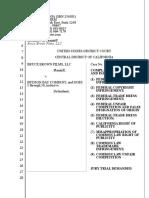 Complaint - Bruce Brown Films v. Hudson Bay Company (CDCA 2020)