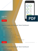 Manager talent dashboard