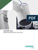 Siemens Arcadis Varic Product Brochure