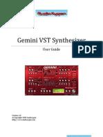 GeminiVSTi Manual 1.0