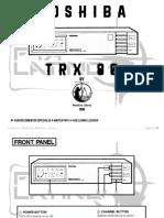 T  O  S  H  I  B  A   TRX-80 by MediosLibres V1.0