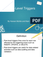 Low-Level Triggers