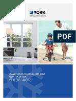 2017 Minisplit Floor Ceiling Inverter YORK YFJE(18-48)BZJ-160620 QC (1)