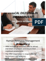 13975614 Stress Interviewsprinciples of Managementppt