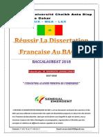 Fascicule Francais. Mamadou Lamine DANFA