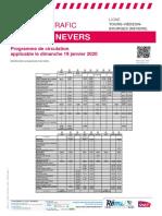 Tours-Vierzon-bourges (Nevers) Du 19-01-2020
