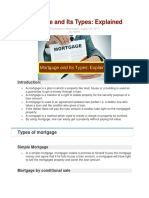 MORTGAGE AND TYPES.docx