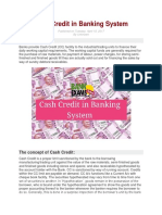 CASH CREDIT IN BANKING SYSTEM.docx