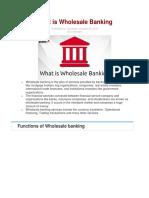 WHOLESALE BANKING.docx