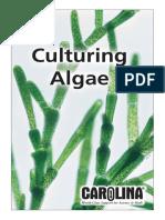 Culturing-Algae-Carolina Biological Supply Company - Atomization Method and Algal Media Formula