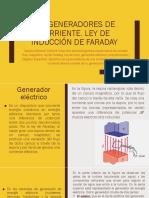 2.2 Generadores de Corriente. Ley de Inducción de Faraday