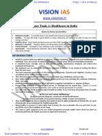 Essay Topic 1 Healthcare in India  @pdf4exams.pdf
