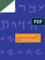 A Social History of Hebrew_ Its Origins Through the Rabbinic Period.pdf