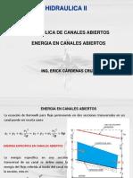 2 ENERGIA EN CANALES ABIERTOS