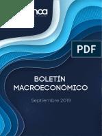 Boletín Macroeconómico  - Septiembre 2019.pdf