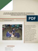 Presentacion tesis doctoral en doctorado en psicolo.feb 2018