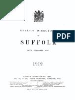 Kelly's Directory Suffolk 1912