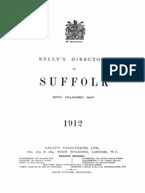 Kelly S Directory Suffolk 1912