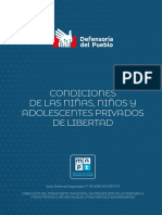 Informe Especial N3 NNA Privados de Libertad